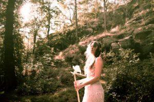 Josefin Berger Elf Queen in the forest